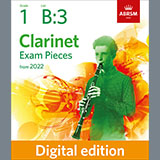 Download Althea Talbot-Howard Rainbow's End (Grade 1 List B3 from the ABRSM Clarinet syllabus from 2022) sheet music and printable PDF music notes