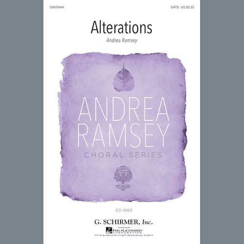 Alterations sheet music