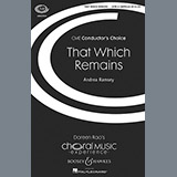 Download Andrea Ramsey That Which Remains sheet music and printable PDF music notes