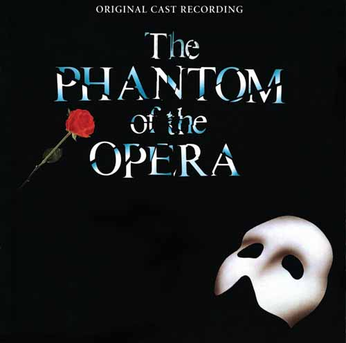 Andrew Lloyd Webber, Angel Of Music (from The Phantom Of The Opera), Piano, Vocal & Guitar (Right-Hand Melody)