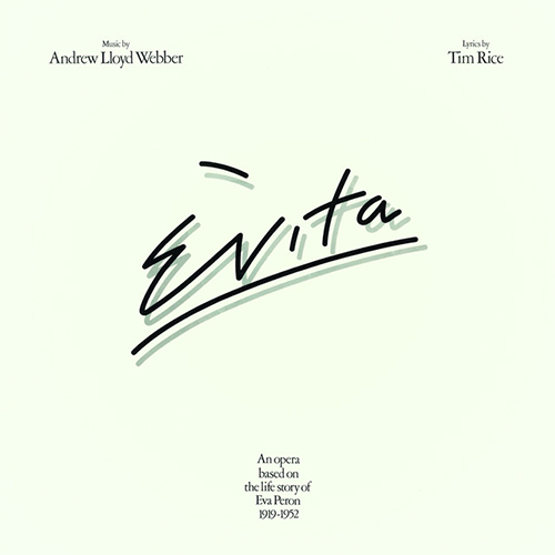 Another Suitcase In Another Hall (from Evita) sheet music