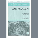 Download Traditional Jewish Tune Ani Ma'amin (arr. Stephen Coker) sheet music and printable PDF music notes