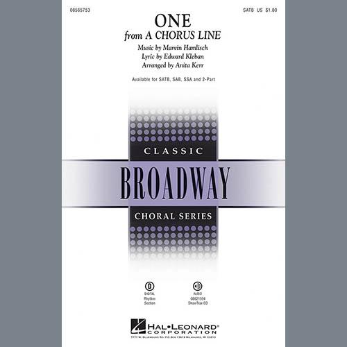Anita Kerr, One (from A Chorus Line), SATB