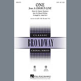 Download Anita Kerr 'One (from A Chorus Line)' printable sheet music notes, Concert chords, tabs PDF and learn this 2-Part Choir song in minutes