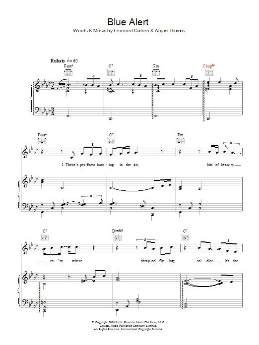 Blue Alert sheet music