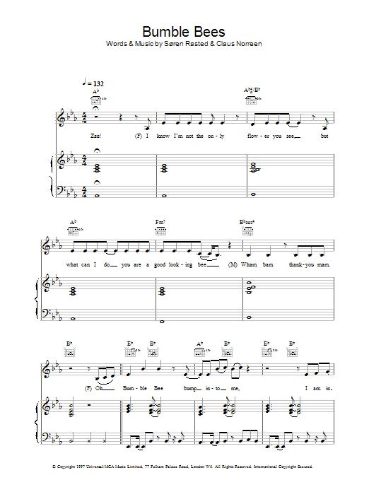 Bumble Bees sheet music