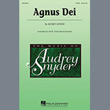 Download Audrey Snyder Agnus Dei sheet music and printable PDF music notes
