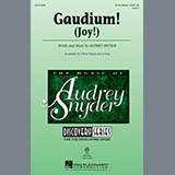 Download Audrey Snyder Gaudium! sheet music and printable PDF music notes