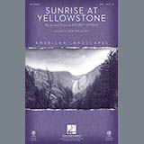 Download Audrey Snyder Sunrise At Yellowstone (from American Landscapes) sheet music and printable PDF music notes