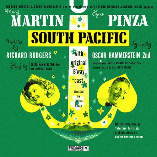 Rodgers & Hammerstein, Bali Ha'i, Melody Line, Lyrics & Chords