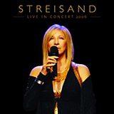 Download Barbra Streisand 'Funny Girl' printable sheet music notes, Pop chords, tabs PDF and learn this Piano, Vocal & Guitar (Right-Hand Melody) song in minutes