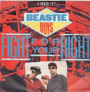 Beastie Boys, Fight For Your Right (To Party), Piano, Vocal & Guitar (Right-Hand Melody)