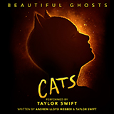 Download Taylor Swift 'Beautiful Ghosts (from the Motion Picture Cats)' printable sheet music notes, Film/TV chords, tabs PDF and learn this Piano, Vocal & Guitar (Right-Hand Melody) song in minutes