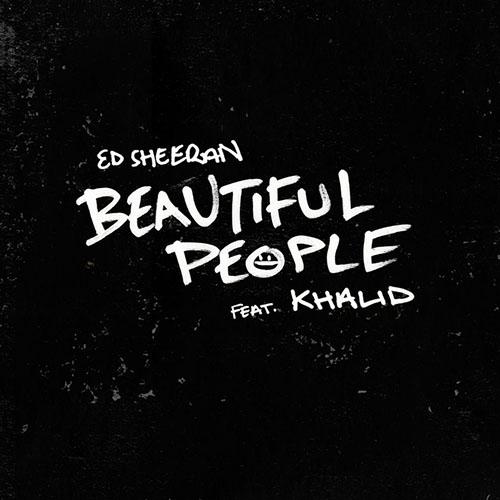 Ed Sheeran, Beautiful People (feat. Khalid), Easy Guitar Tab