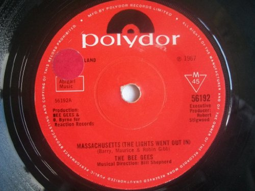 Bee Gees, Massachusetts (The Lights Went Out), Piano, Vocal & Guitar (Right-Hand Melody)