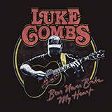 Download Luke Combs 'Beer Never Broke My Heart' printable sheet music notes, Pop chords, tabs PDF and learn this Piano, Vocal & Guitar (Right-Hand Melody) song in minutes