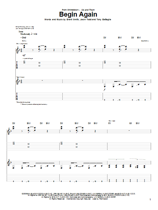 Taylor Swift Begin Again Sheet Music Download Pdf Score 251257