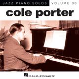 Download Cole Porter Begin The Beguine [Jazz version] (arr. Brent Edstrom) sheet music and printable PDF music notes