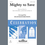 Download Ben Fielding & Reuben Morgan Mighty To Save (arr. Heather Sorenson) sheet music and printable PDF music notes