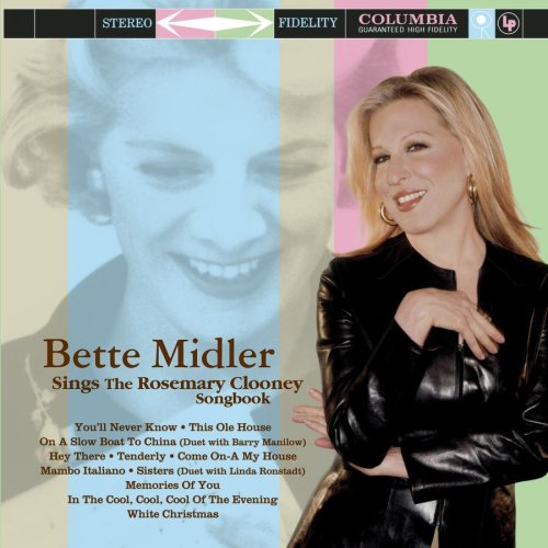 Bette Midler, Tenderly, Piano, Vocal & Guitar (Right-Hand Melody)