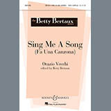 Download Betty Bertaux Sing Me A Song (Fa Una Canzona) sheet music and printable PDF music notes
