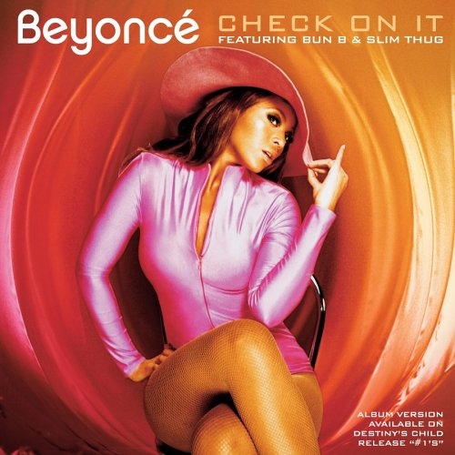Beyoncé, Check On It, Piano, Vocal & Guitar (Right-Hand Melody)