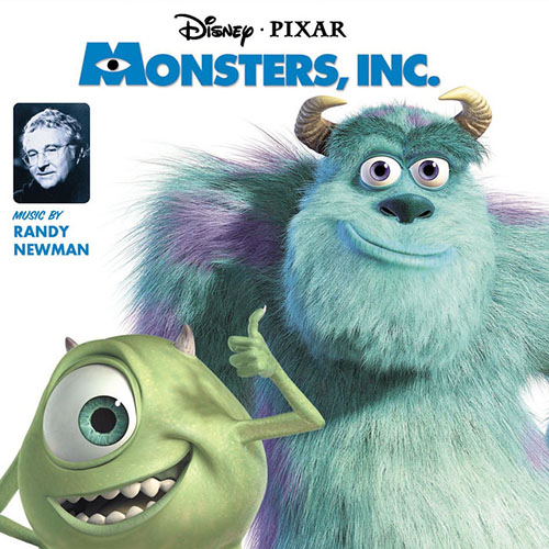 Billy Crystal and John Goodman, If I Didn't Have You (from Monsters, Inc.), Piano, Vocal & Guitar (Right-Hand Melody)
