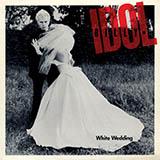 Download Billy Idol White Wedding sheet music and printable PDF music notes