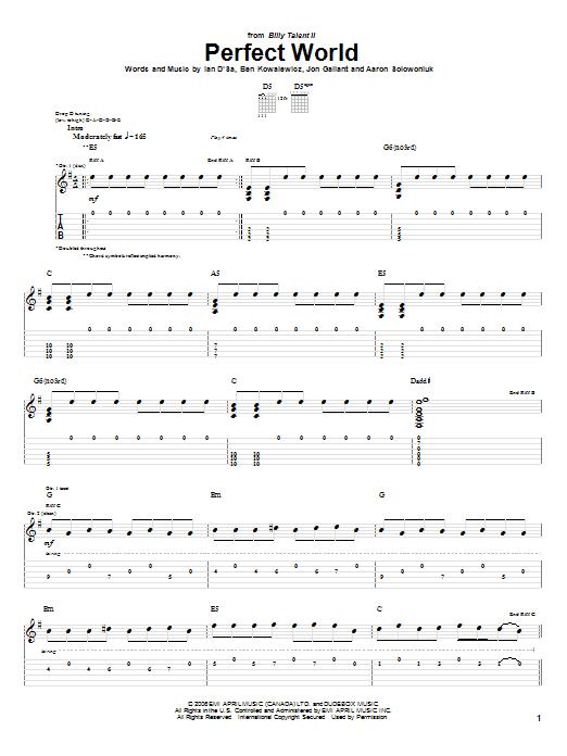 Perfect World sheet music