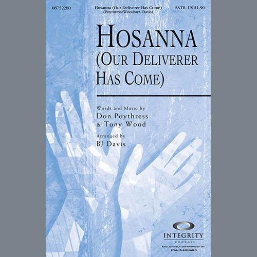 Hosanna (Our Deliverer Has Come) - Alto Sax (sub. Horn) sheet music