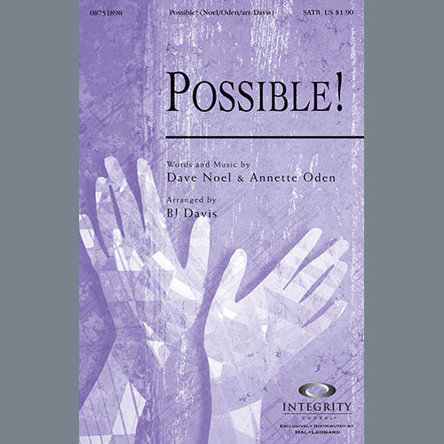 BJ Davis, Possible! - Cello, Choir Instrumental Pak