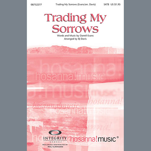 Trading My Sorrows - Alto Sax (sub. Horn) sheet music