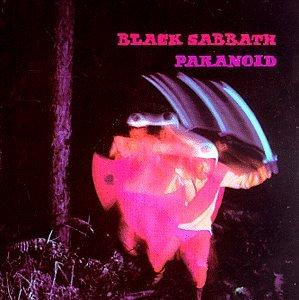 Black Sabbath, Paranoid, Piano, Vocal & Guitar (Right-Hand Melody)