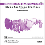 Download Armando Rivera Blues For Three Brothers - Drum Set sheet music and printable PDF music notes