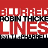 Download Robin Thicke 'Blurred Lines' printable sheet music notes, Rock chords, tabs PDF and learn this Guitar Ensemble song in minutes