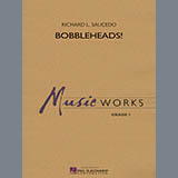 Download Richard L. Saucedo 'Bobbleheads! - Trombone/Baritone B.C.' printable sheet music notes, Novelty chords, tabs PDF and learn this Concert Band song in minutes