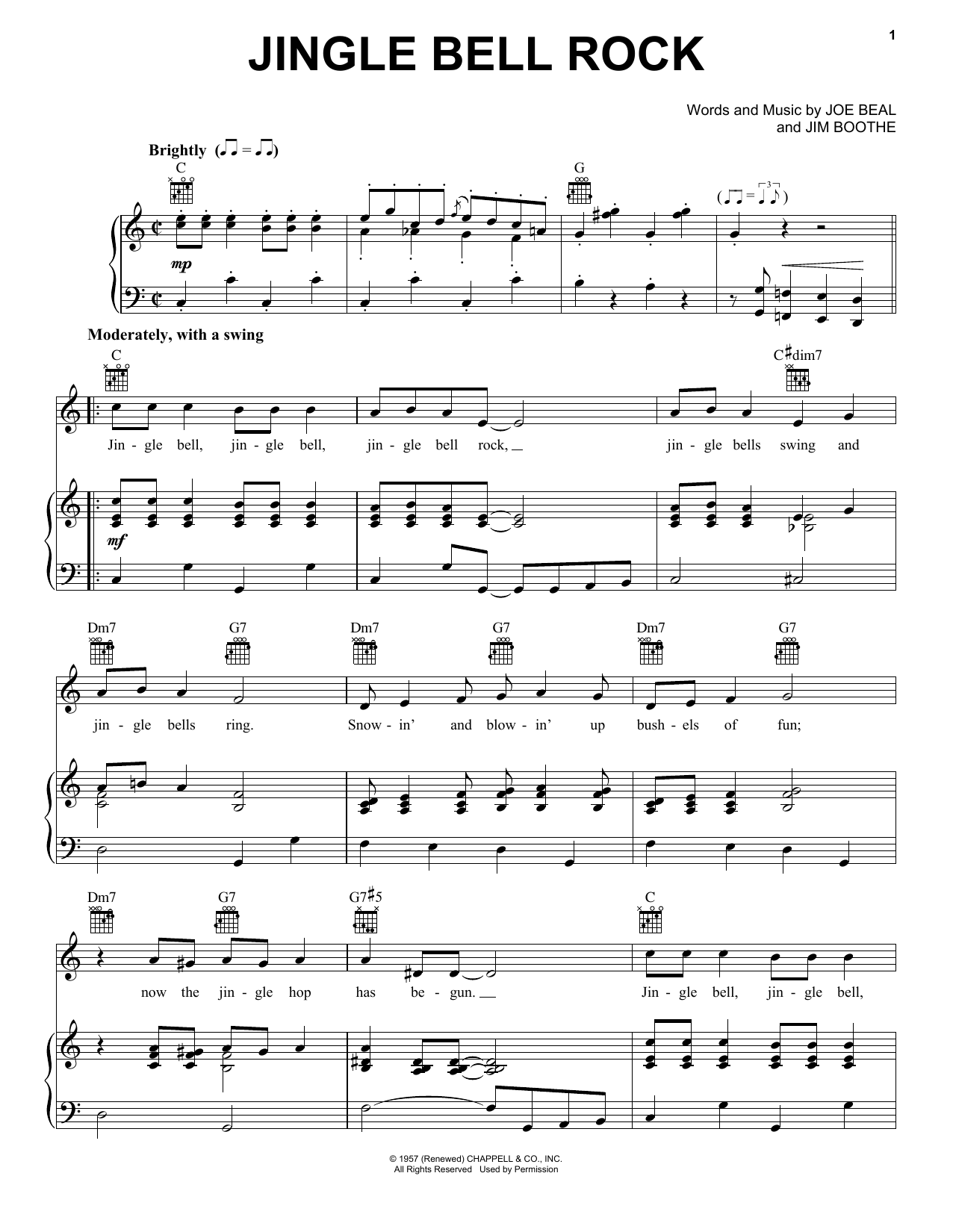 Jingle-Bell Rock sheet music