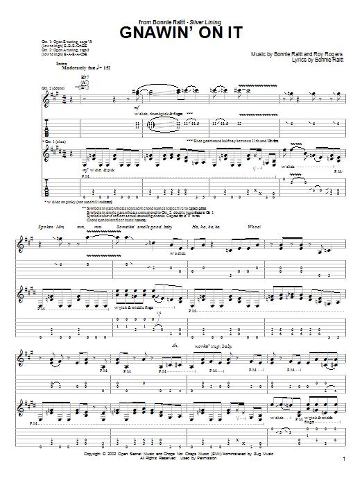 Gnawin' On It sheet music