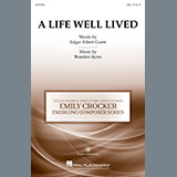 Download Braeden Ayres A Life Well Lived sheet music and printable PDF music notes