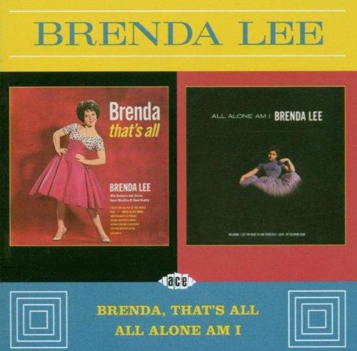 Brenda Lee, All Alone Am I, Piano, Vocal & Guitar (Right-Hand Melody)