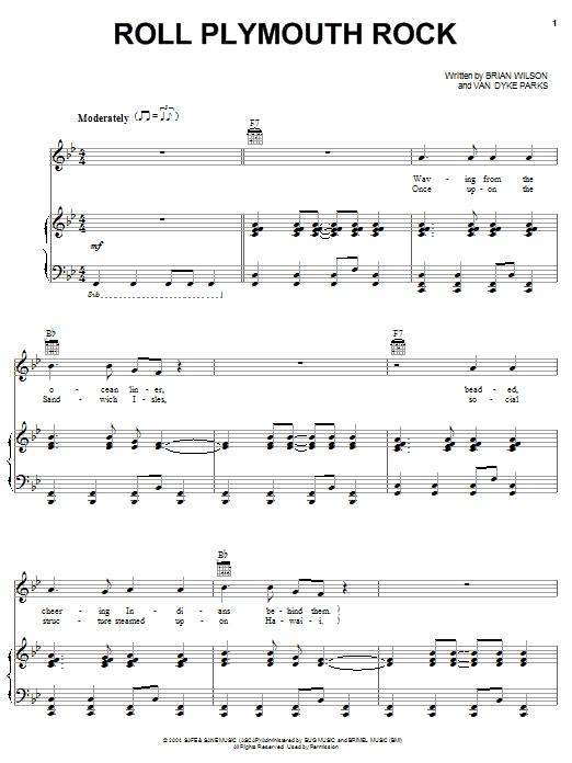 Roll Plymouth Rock sheet music