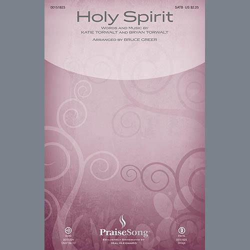 Bruce Greer, Holy Spirit - Full Score, Choir Instrumental Pak