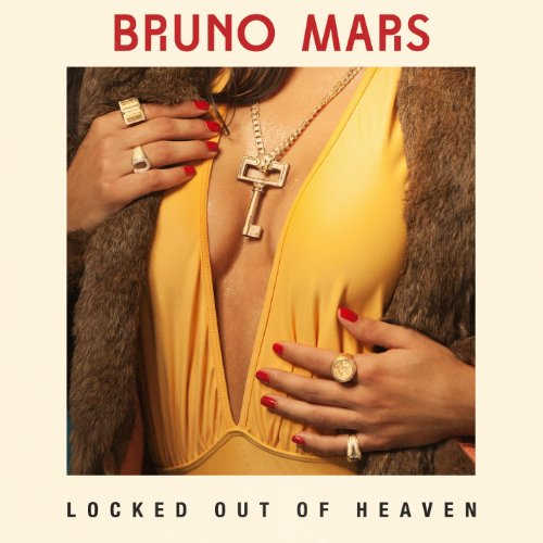 Bruno Mars, Locked Out Of Heaven, Piano, Vocal & Guitar (Right-Hand Melody)