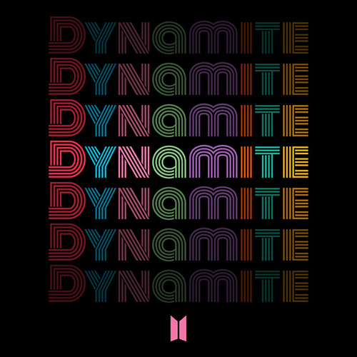 BTS, Dynamite, Piano, Vocal & Guitar (Right-Hand Melody)