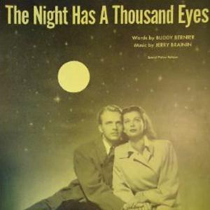 Buddy Bernier, The Night Has A Thousand Eyes, Real Book - Melody, Lyrics & Chords - C Instruments