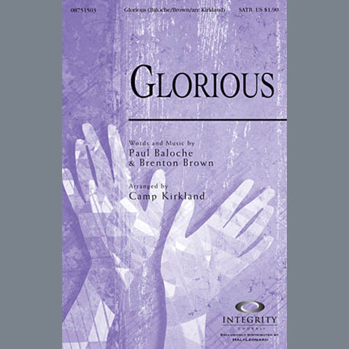 Camp Kirkland, Glorious - Tenor Sax (Trombone 2 sub.), Choir Instrumental Pak