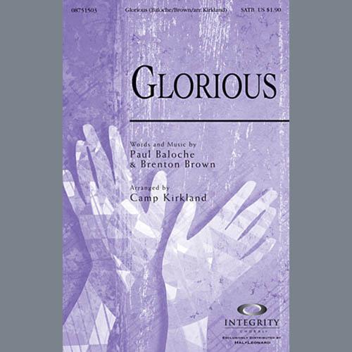 Glorious - Violin 1, 2 sheet music