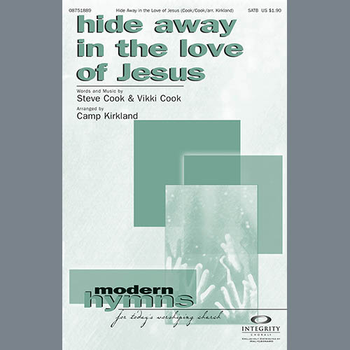 Hide Away In The Love Of Jesus - Tenor Sax (sub. Tbn 2) sheet music