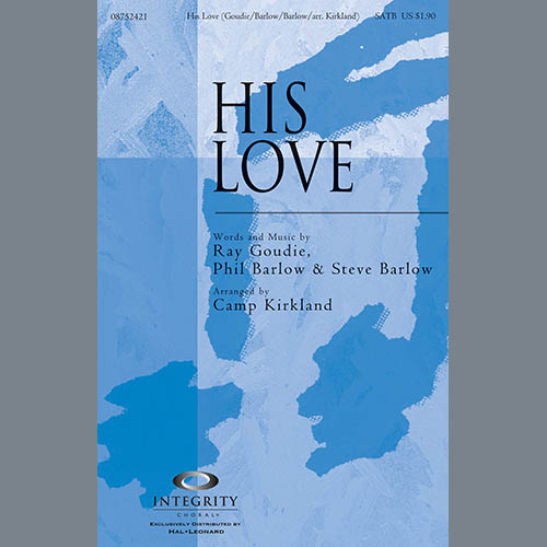 His Love - Harp sheet music