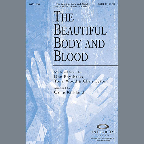 The Beautiful Body And Blood - Bass Clarinet (sub. dbl bass) sheet music